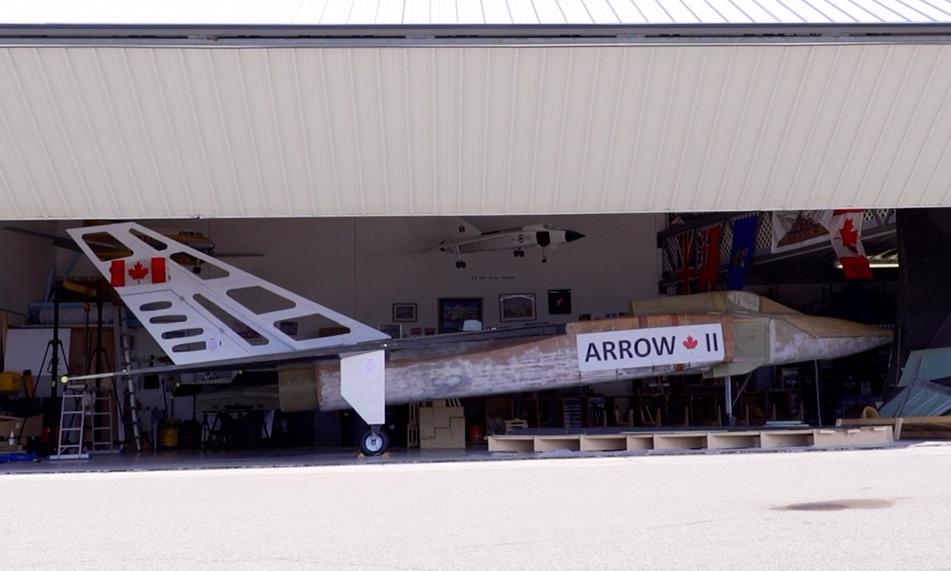 Avro Arrow half built