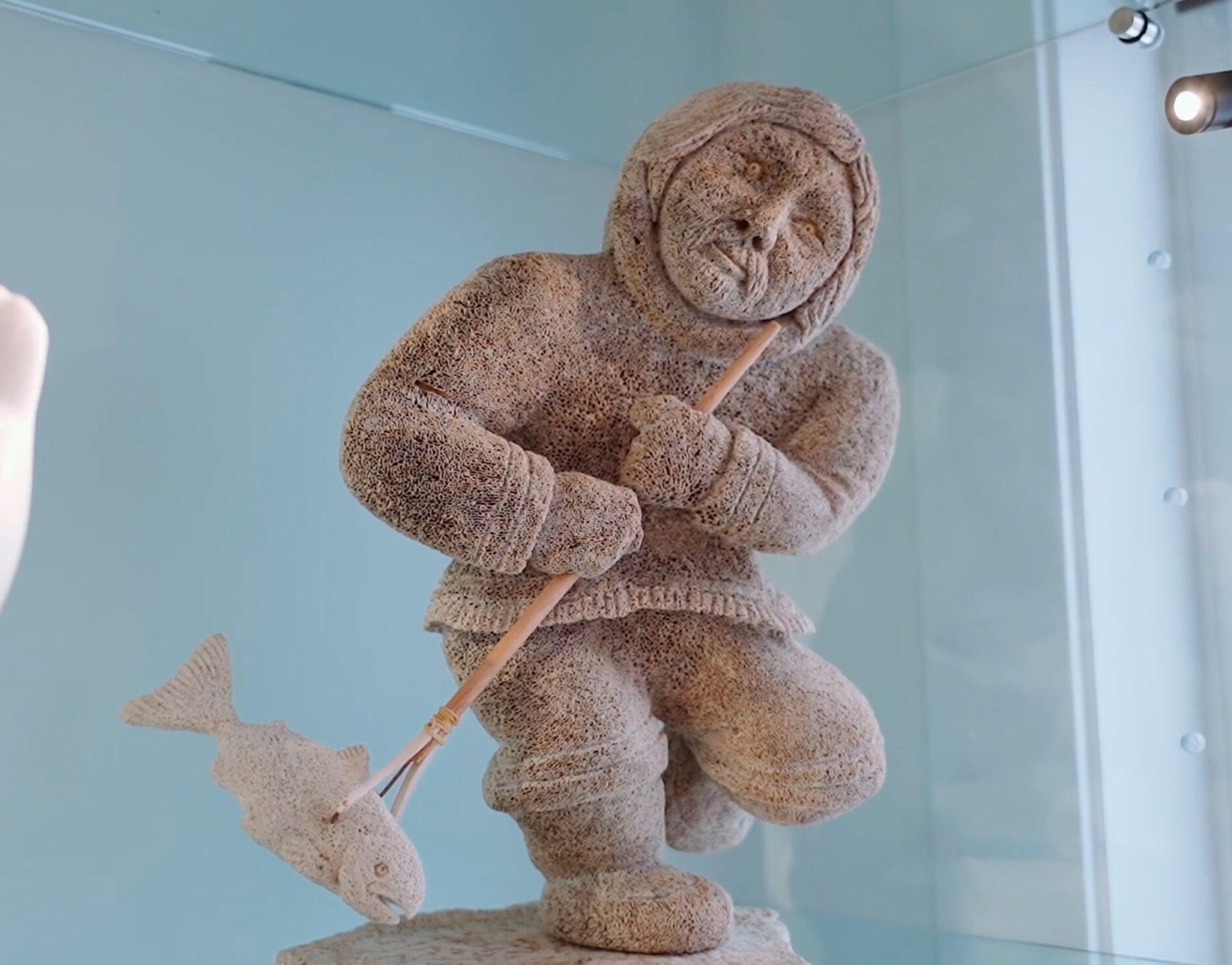 Inuit Sculpture Photo