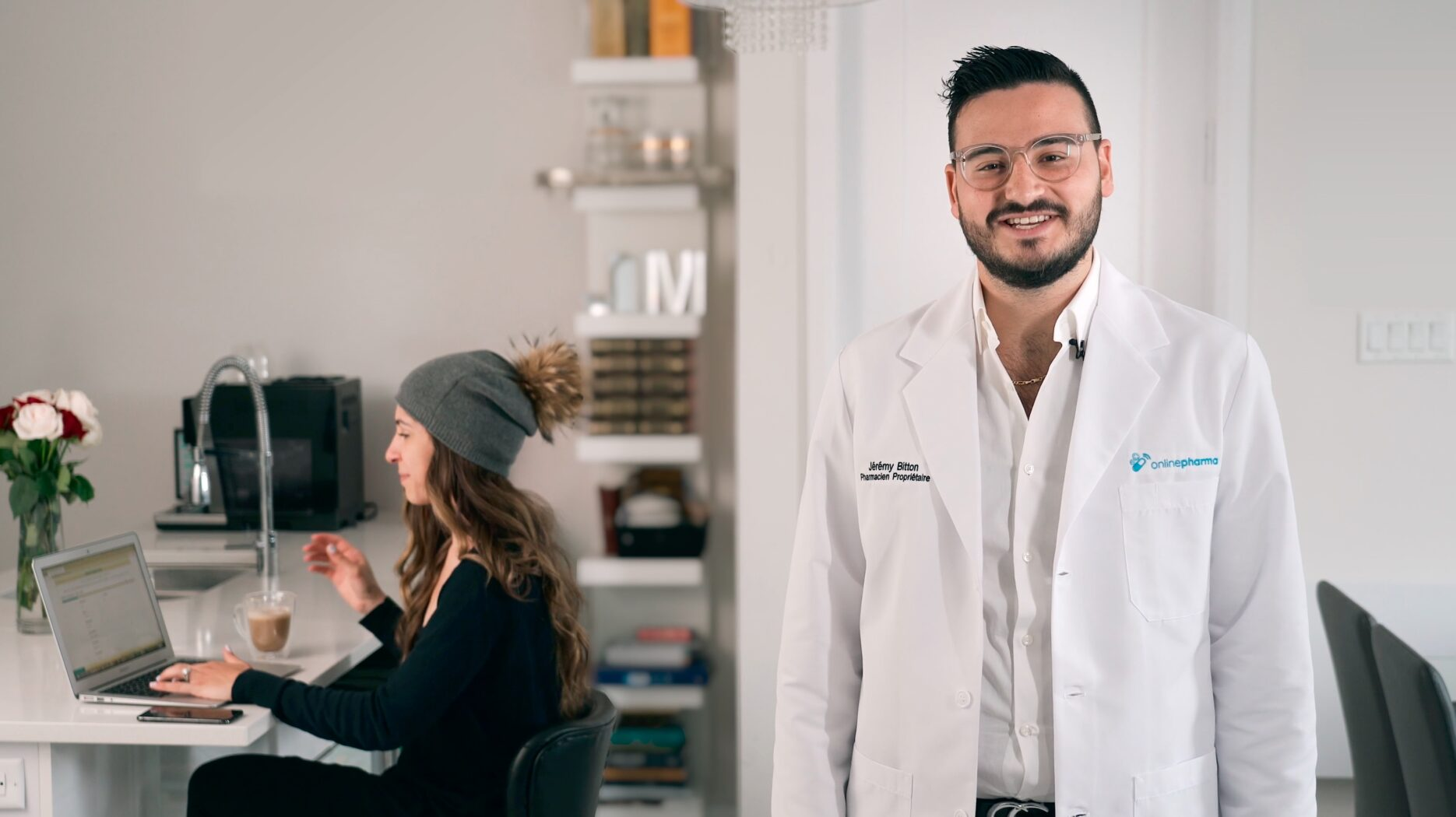Pharmacist Talking